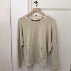 Madewell Rivet & Thread Kangaroo-Pocket Sweatshirt
